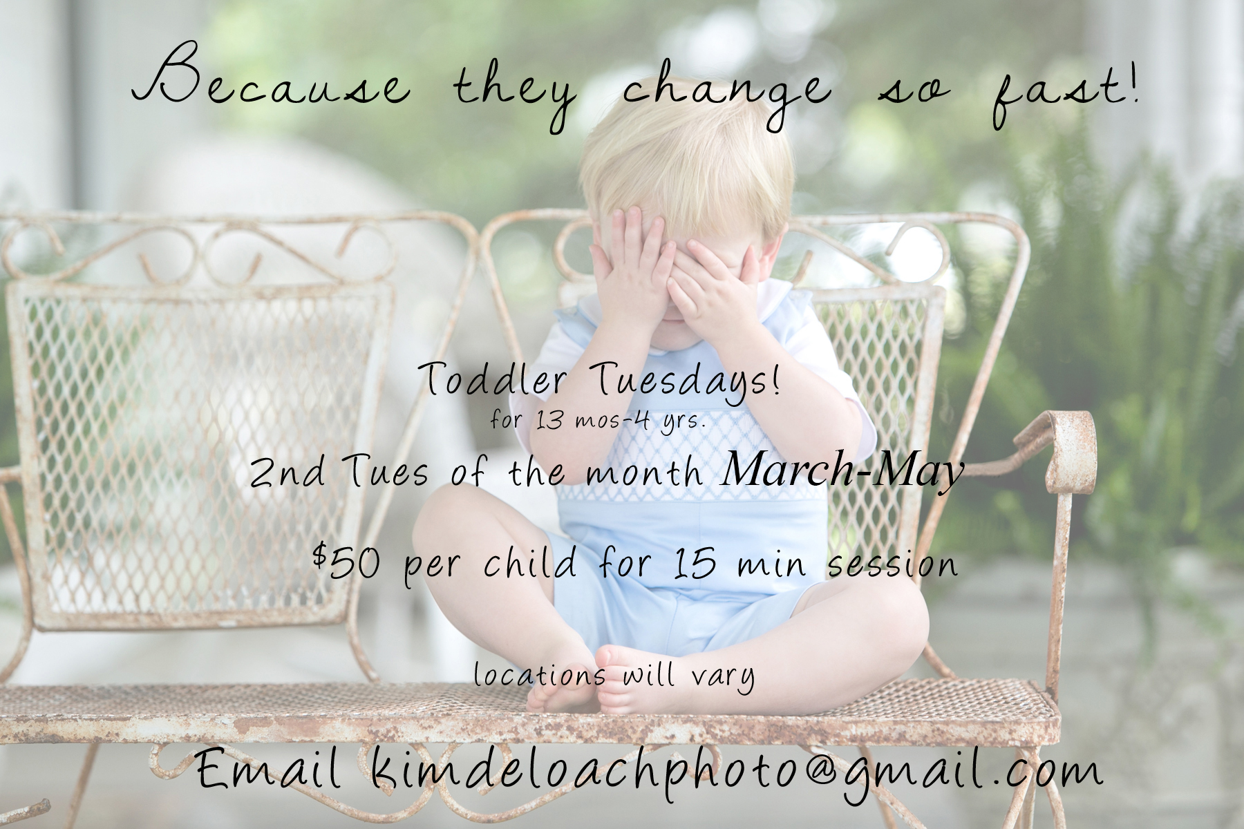Toddler Tuesday!