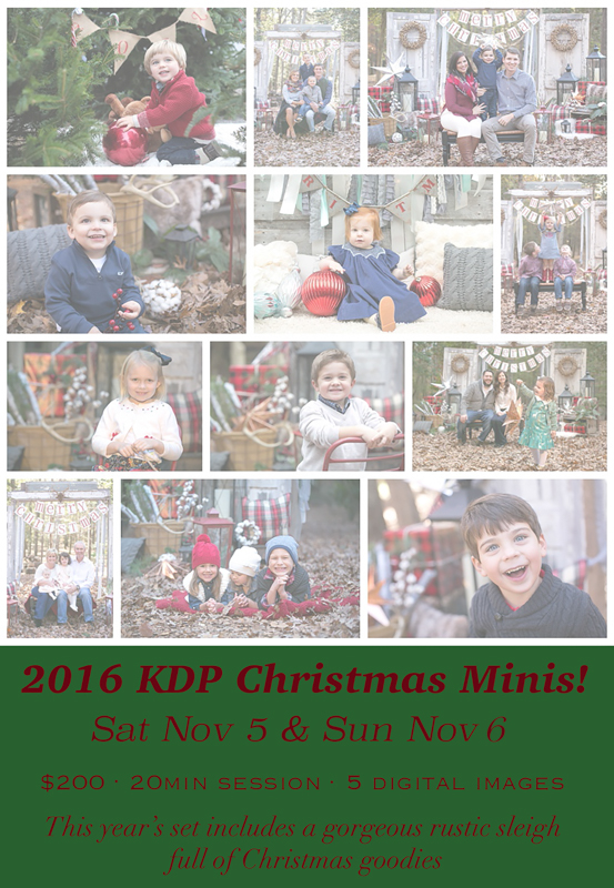 Christmas Minis-Awards and Sign-ups