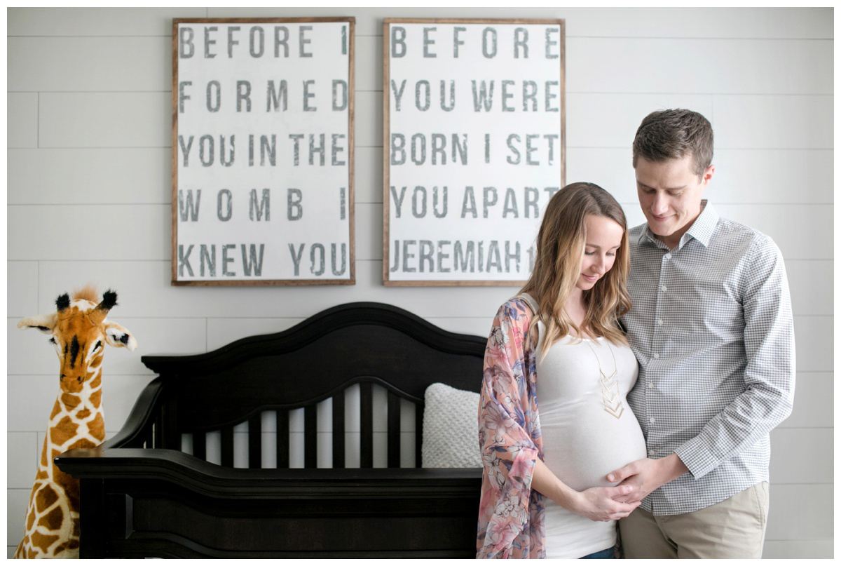 Morgan and Justin:: Maternity
