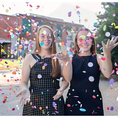Kyra and Zoe: Class of 2019