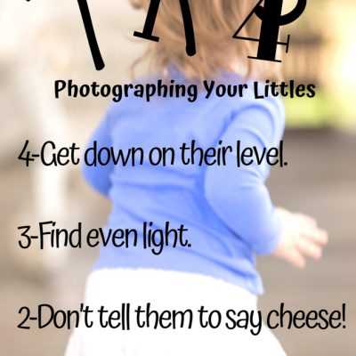 Tips for Photographing Your Littles